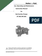 Dlscrib.com Et Pn Iso Pump Instruction Manual Org