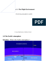 The Flight Environment
