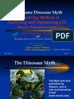 Mainframe Dinosaur Myth 2005