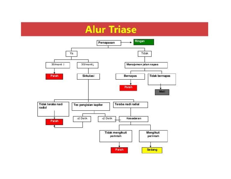 Gambar alur triase ccuart Image collections