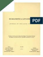Humanistica Lovaniensia Vol. 20, 1971.pdf