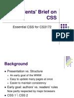 3 CSS Essentials