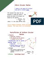 6. Kinematics Circular Motion
