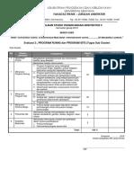 1 Form Penilaian Spesifikasi & Program