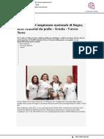 Al Campionato Nazionale delle Lingue, Liceo Manzoni da podio - Varesenews.it, 19 febbraio 2018