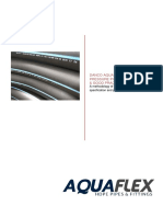 Danco Aquaflex PE100 Installation Specification & Good Practices Guide