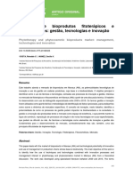 Mercado de Bioprodutos Fitoterápicos e Fitocosméticos