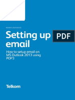 Outlook 2013 Using POP3
