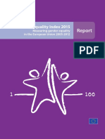 EIGE_Gender Equality Index 2015