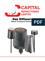 Gas Diffusers Brochure