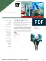 Atomizador,Atomizer, Spray Drying - Simes s.A
