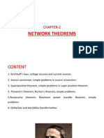 Network Theorems-Electrical Engg Science