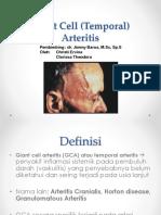 Temporal Arteritis Headache Christiervina Clarissatheodora