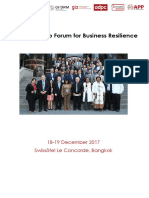 asia leadership forum for business resilience report 15 01 18