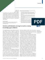 Knowledge Gap in Diabetes