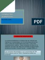 CONDUCTAS DESAFIANTES