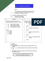 Chapter 5 I Algebraic Formula ENHANCEMENT.doc