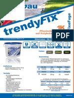 PflasterFugenMörtel trendybau® trendyfix TMB2018-129