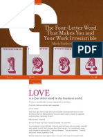The Four-Letter Word That Makes You and Your Work Irresistible