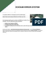 Bios Rom Checksum Error System Halted 5644 Ktd1xf