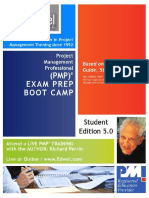 PMP Exam Preparation Boot Camp Participant Manual Edwel 5 2f