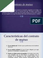 Contrato de Mutuo.