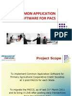 Common Application Software for Pacs Nov 2016