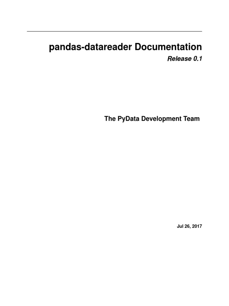 Pandas Datareader | Application Programming Interface | Coefficient