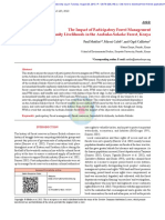 The Impact of Participatory Forest Management on Local Community Livelihoods in the Arabuko-Sokoke Forest, Kenya