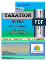 Revision Summary of Income Tax Book Free PDF