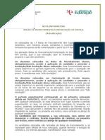 Nota Informativa - Bolsa de Recrutamento_Contratação de Escola (actualizada)