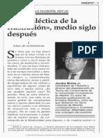 Jacobo Munnoz La Dialectica de la Ilustracion medio siglo despues pdf.pdf