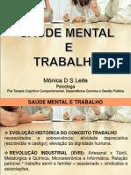 Palestra Saúde Mental e Trabalho Ago_Set 2013