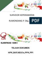 Klarifikasi I RSUD Sorong