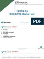 Aula 05 - Tutorial Da Ferramenta OWASP-ZAP