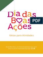 Guia das Boas Ações - Ideias