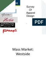 Survey of Apparel Design