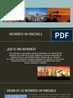 Refinerías en Venezuela