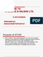 Presentation Slide on the Requirement of KT or KS as in-House Workshop