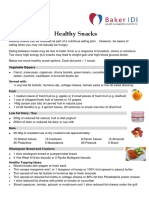 BakerIDI Factsheet Healthy Snacks