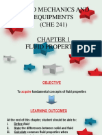 Chapter 1 Fluid Properties
