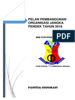 Perancangan Strategik Panitia Geografi 2018