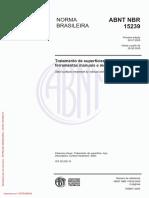 ABNT NBR 15239_2005 - Tratamento de Superfícies de Aço Com Ferramentas Manuais e Mecânicas