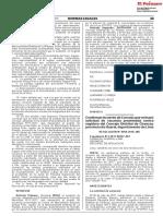 Confirman Acuerdo de Concejo que rechazó solicitud de vacancia presentada contra regidora del Concejo Distrital de Chancay provincia de Huaral departamento de Lima