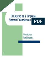 El Entorno de La EmpresaSistema Financiero en Bolivia