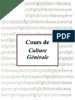 Culture Générale - titre