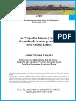 Medina, J. La Prospectiva Humana y Social.