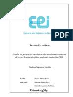 Estudio de frecuencias asocidas a la aerodinámica externa de trenes de alta velocidad mediante simulación CFD