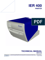 Printer Technical Manual N0C412A1