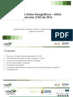 Presentación Modelo de datos geográficos del ANLA